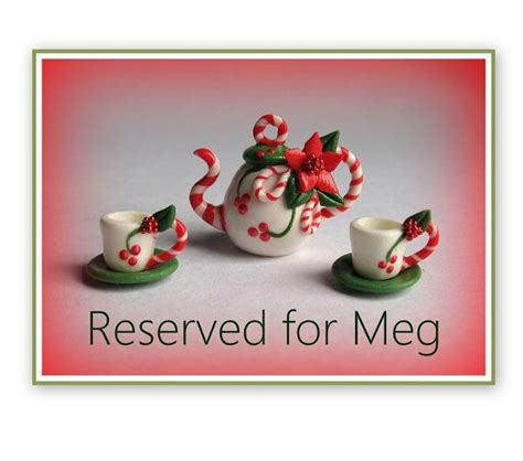 Reserved Listing Y2018 01 reserved listing for meg polymer clay polymers and clay