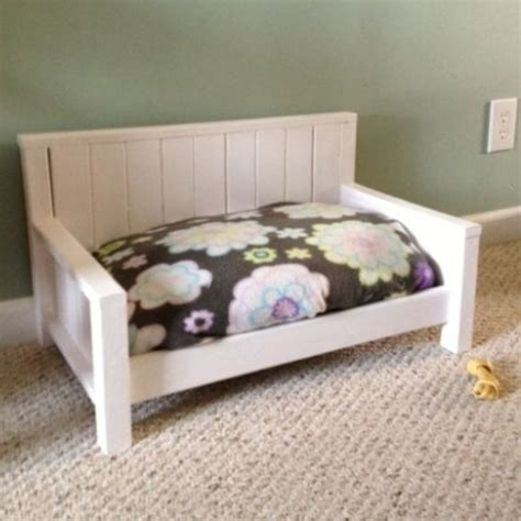 dog bed bench custom dog bed or toddler bench by furnish me