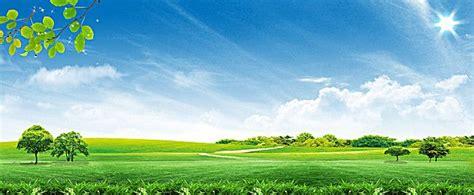 fresh  natural green landscape background