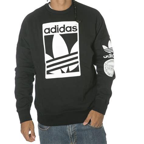 Sweatshirt Adidas 1 adidas originals sweatshirt str graph crew bk buy fillow skate shop