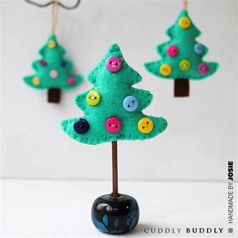 tree felt ornaments 28 diy crafts for