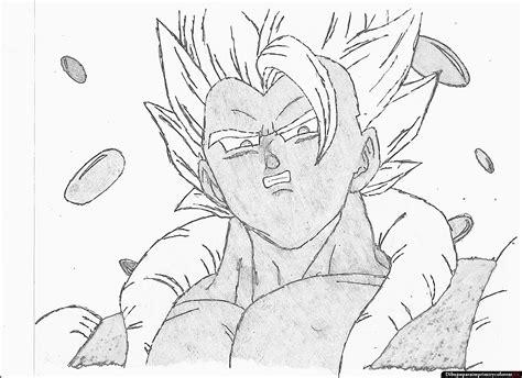 dibujos a lapiz de goku 2017 dragon ball z para imprimir
