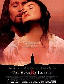 unfaithful film adaptations the scarlet letter 1995 film wikipedia