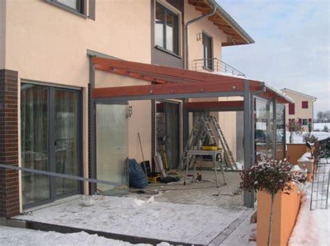 anbau einer cabrio veranda 174 in holz alu konstruktion bei - Anbau Veranda