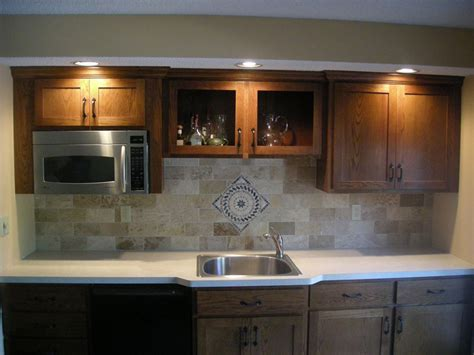 brick tile backsplash kitchen kitchen on pinterest backsplash ideas kitchen tiles and