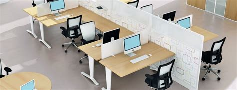 Modular Office Furniture Open Plan Bench Desks Online Open Plan Office Furniture