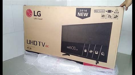 Lg Smart Uhd 4k Led Tv 43uj632t mở hộp smart tv led lg 49inch 4k uhd model 49uh610t