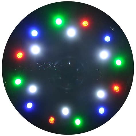 rotating led disco light 12 quot mirror disco ball dj stage party led light rotating