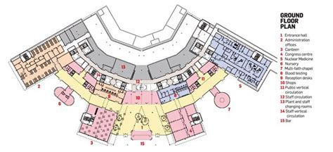 layout design of a hospital la spezia hospital ground floor plan places to visit