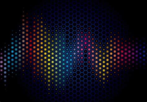 wallpaper vector dark free dark blue abstract polka dot background vector 02