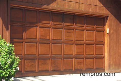 wooden sectional garage doors sectional wood garage door