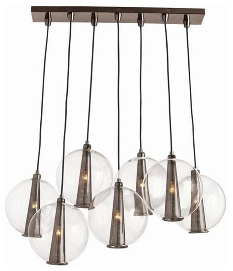 Caviar Pendant Light Caviar Cluster Pendant Arteriors Home Clear Glass Chandelier 48 5 Quot Hx42 In Wx19d Modern
