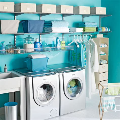 Organized Laundry Room by How To Organize Laundry Room Interiorholic