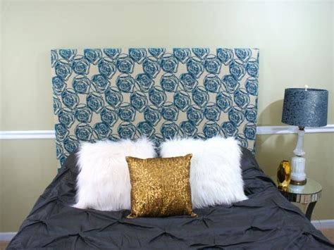 make headboard how to upholster a headboard for beginners hgtv
