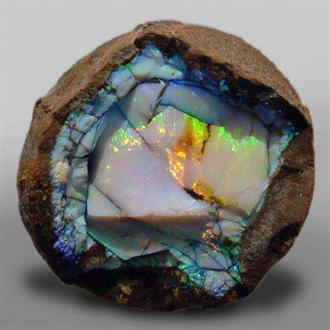 opal geode gem mineral society