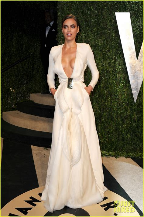 Irina Shayk At The Vanity Fair Oscar On Feb 22 Irina Shayk Solange Knowles Vanity Fair Oscars