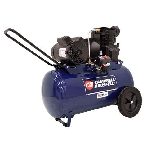 cbell hausfeld 20 gal electric air compressor vt6290