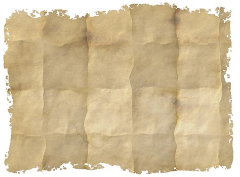 Folding Parchment Paper - background of an folded paper texture with ripped and