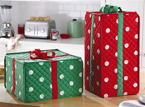 covers for kitchen appliances holiday gift box kitchen appliance covers the green head