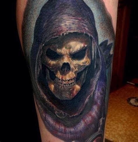 skeletor from he by andy engel tattoos