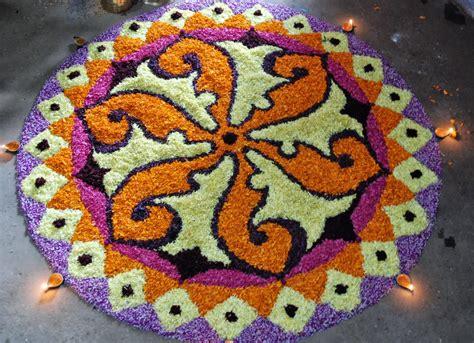 flower design in rangoli flower rangoli designs for diwali 2017 best floral