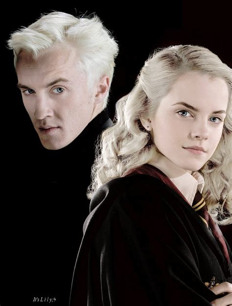 draco malfoy and hermione granger by itslily951 on deviantart