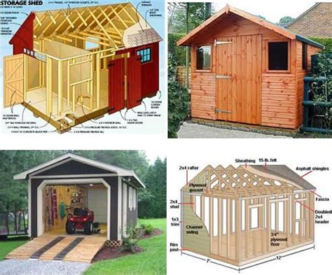 build  storage shed  scratch
