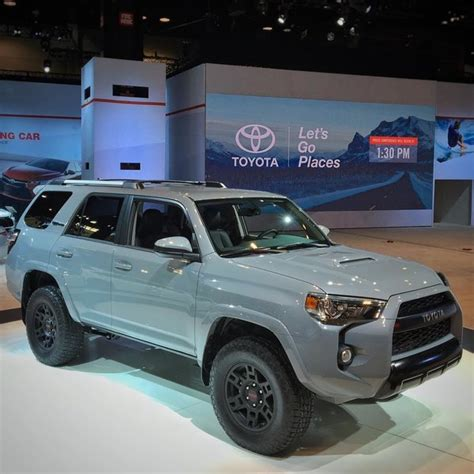 4runner trd pro colors vwvortex toyota debut at chicago auto show