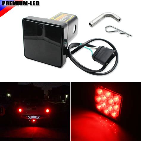 trailer hitch cover with 12 led brake light trailer hitch cover with 12 led brake light autos post