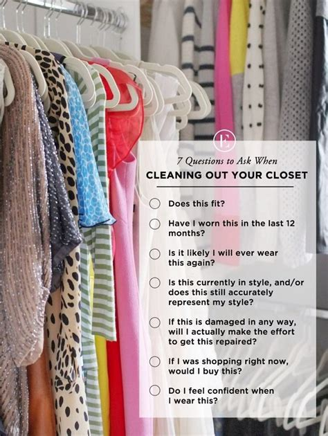 cleaning out your closet 7 questions to ask yourself when cleaning out your closet