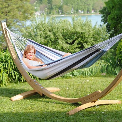 Single Person Hammock With Stand Amazonas Single 1 Person Havanna Marine Hammock And Stand