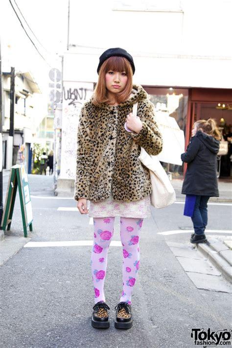 Bag Bodyline 001 Pink harajuku s leopard print jacket unicorn pin
