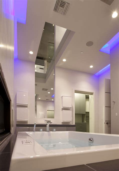 bathroom leds hurtado residence in las vegas by mark tracy of chemical