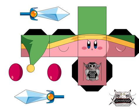 image gallery kirby papercraft