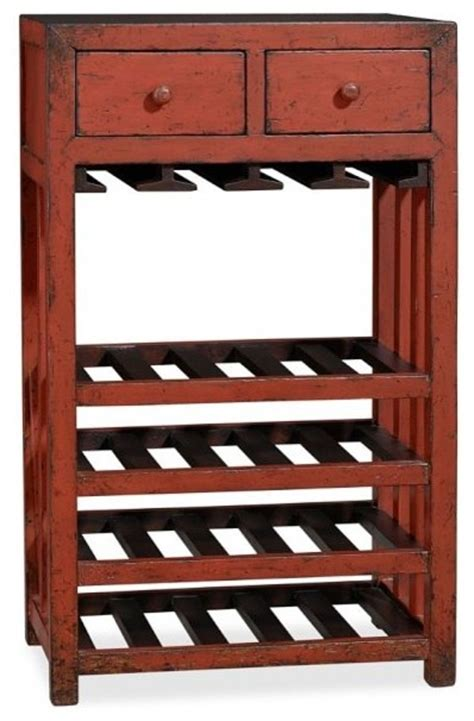 Pottery Barn Wine Rack by Aiden Wine Tower Traditional Wine Racks Sacramento