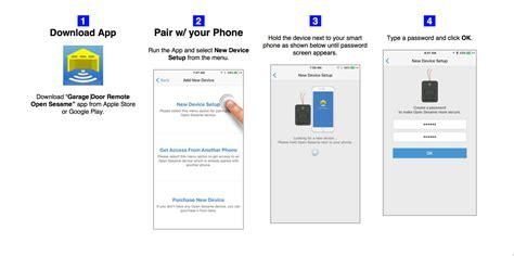 cell phone garage door opener app garage door opener via cell phone wageuzi