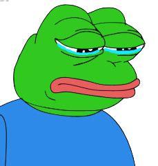 imagenes de rana llorando de donde salio la rana que usan todo el tiempo en taringa