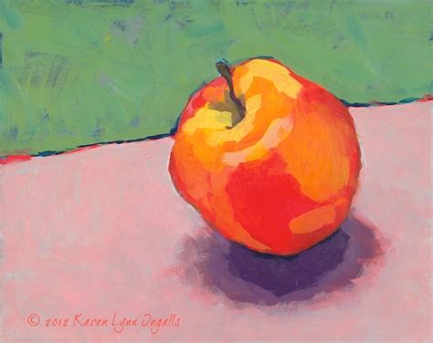 acrylic painting apple acrylic painting 101 home