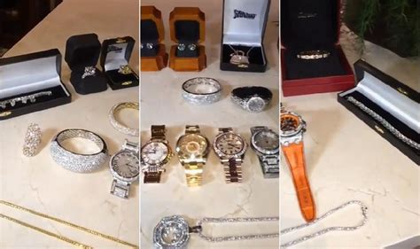 money mayweather flashes jewelry collection ny daily news