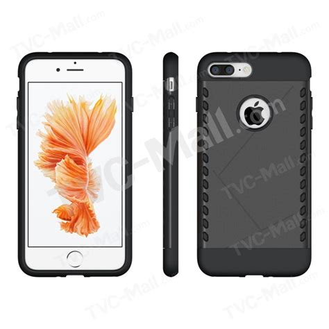 Casing Cover Likgus Tough Shield Iphone 7 1 tough shield 2 in 1 plastic tpu protector for iphone 7 plus black tvc mall