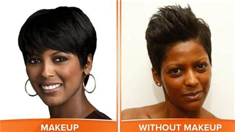 tamaron hairstyles on the today show today show anchors take it off on no make up monday