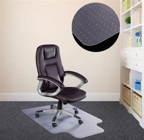 Office Desk Protector New Pvc Mat Home Office Carpet Protector Desk Floor Chair Tranparent 2 0mm Ebay