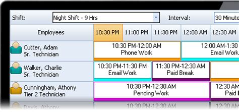 call center schedule template employee scheduling software for call centers and help desks