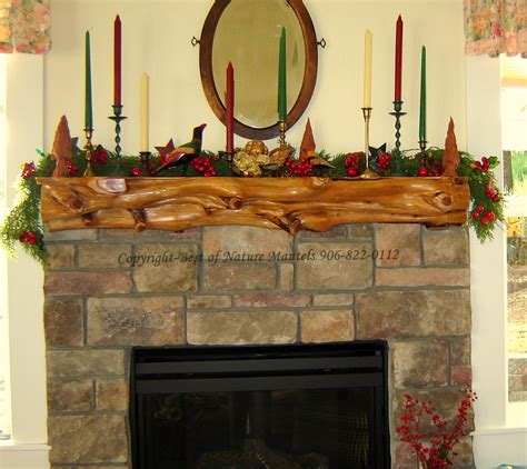 Log Fireplace Mantel by Rustic Fireplace Log Mantel Log Fireplace Mantel Rustic