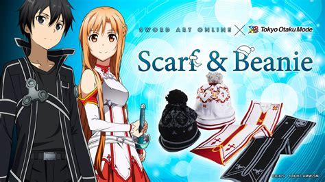 Tom Exclusive Sword Scarf Beanie Asuna sword scarf beanie tokyo otaku mode projects