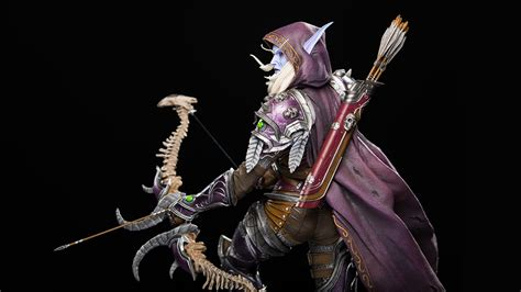 sculpture now world of sylvanas world of warcraft statue now on sale wowhead news