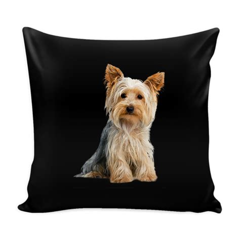 yorkie puppy accessories terrier pillow cover terrier accessories