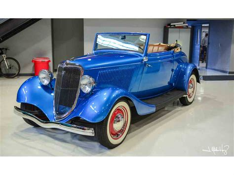 ford cabriolet cars for sale 1934 ford cabriolet for sale classiccars cc 926641