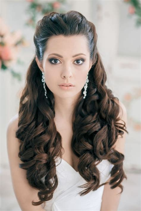 hairstyles when hair is down bridal hairstyles for long hair down hairstyles