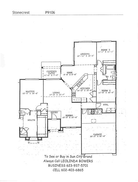 sun city grand floor plans find sun city grand stonecrest floor plans leolinda